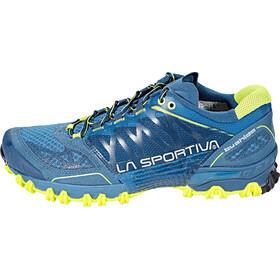 La Sportiva Bushido Running Shoes Men Ocean/Sulphur